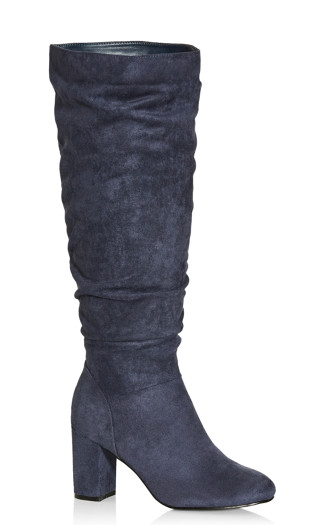 Petra Knee Boot - blueberry