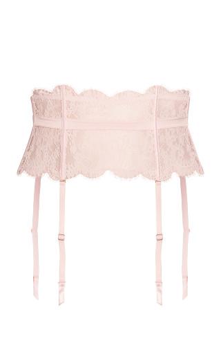 Clementine Garter Belt - soft pink