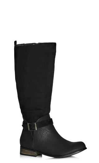 Micah Knee Boot - black
