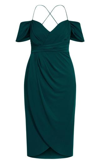Entwine Maxi Dress - emerald