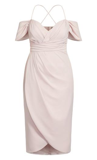Entwine Maxi Dress - soft blush