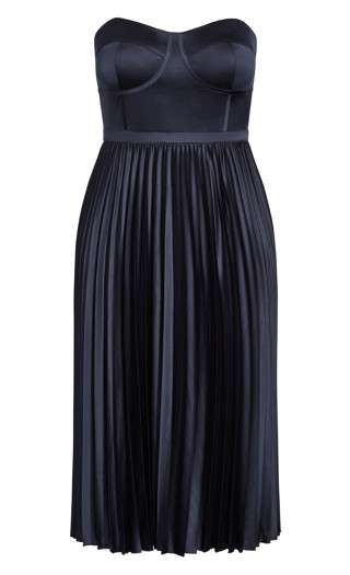 Ahanna Dress - navy