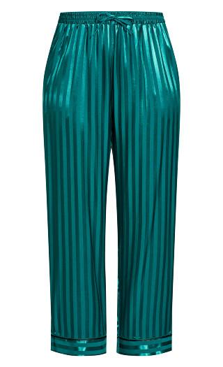 Sophia Sleep Pant - emerald