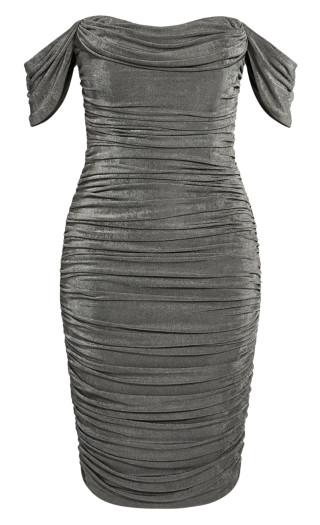 Luminosity Dress - gunmetal