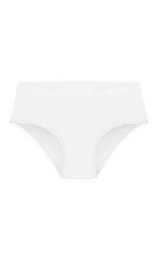 Cotton Boyshort - white