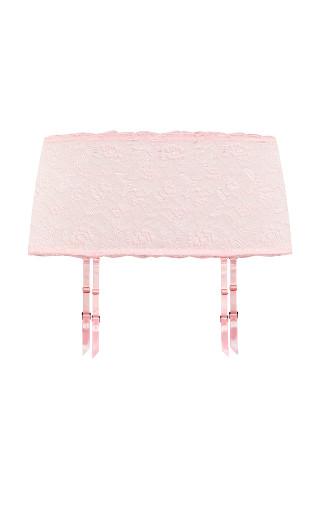 Duet Garter Belt - soft pink
