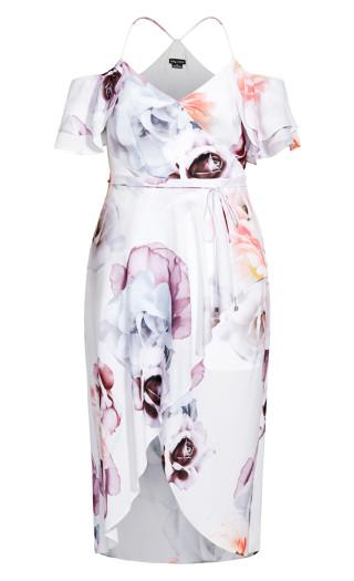 Bella Rosa Maxi Dress - ivory