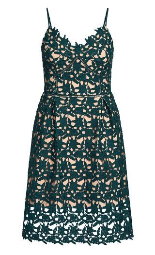 So Fancy Dress - emerald