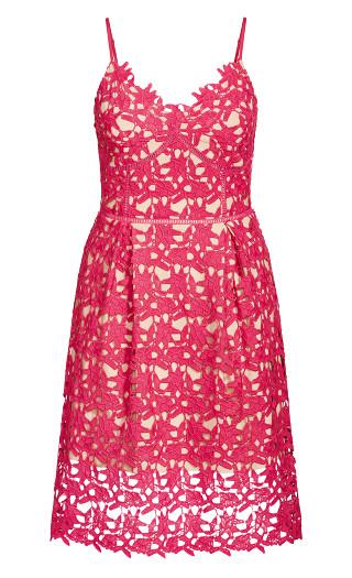 So Fancy Dress - shocking pink
