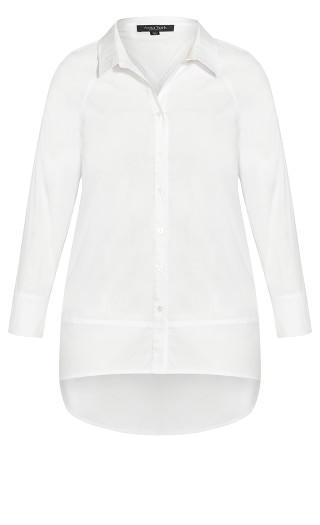 Cotton Rich Shirt - white