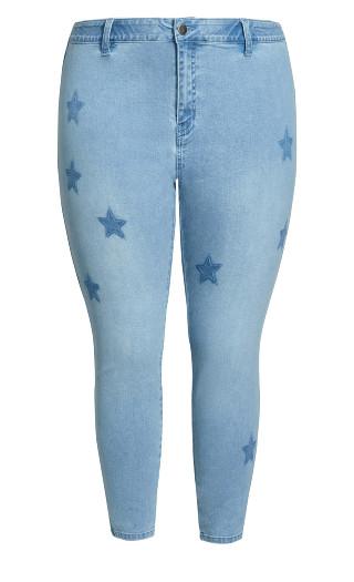 Star Jean - light wash
