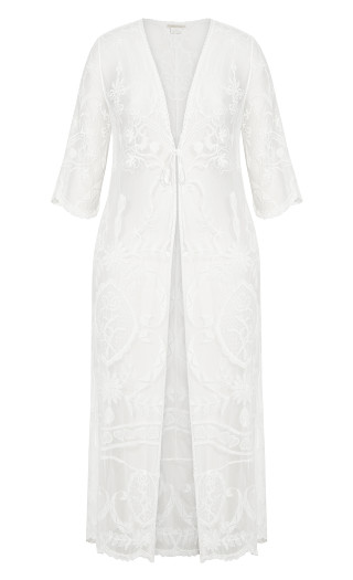 Angel Karma Jacket - ivory