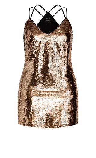 Glimmer Dress - blush