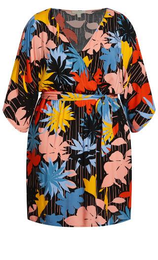 Day Date Mini Dress - multi floral