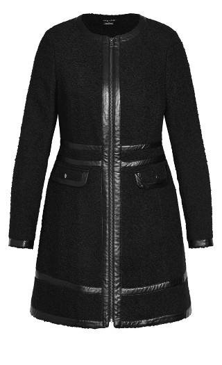 Winter Escape Coat - black