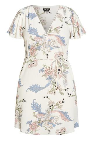 Chic Nouveau Dress - ivory