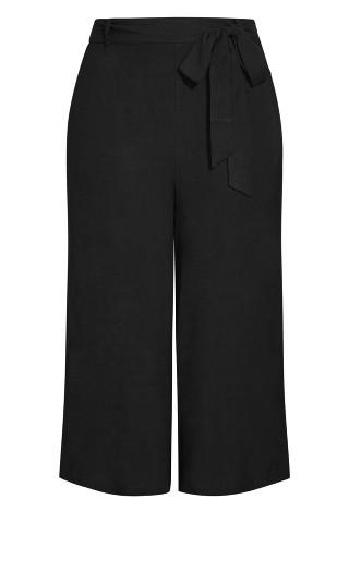 Nouveau Tie Pant - black