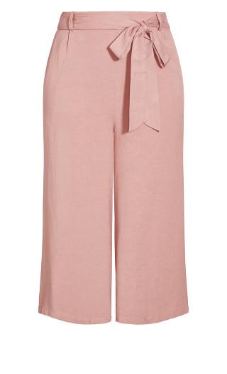 Nouveau Tie Pant - rose