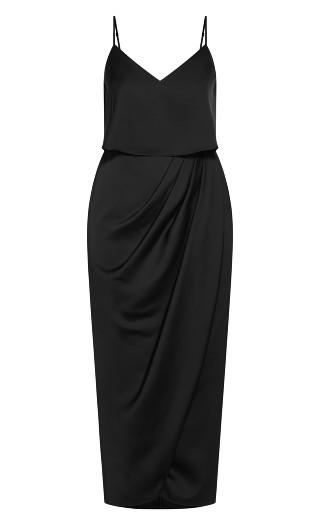 Baby Frill Dress - black