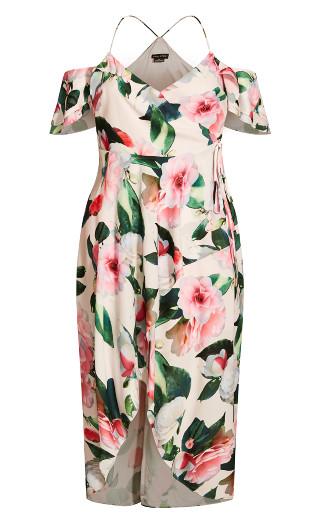 Garden Maxi Dress - pink