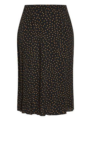 Mini Spot Skirt - black