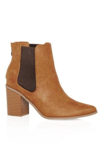 Maddie Ankle Boot - caramel