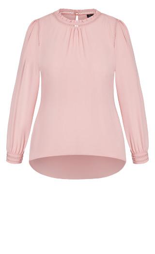 Kiss Me Quick Shirt - rosebud