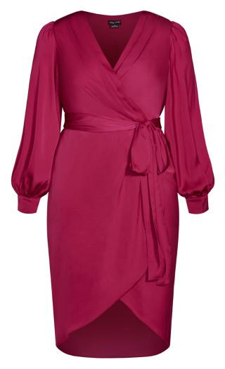 Opulent Dress - magenta