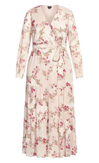 Flower Child Maxi Dress - blush