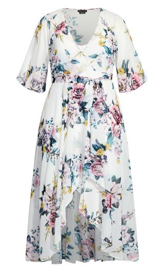 Summer Love Maxi Dress - ivory