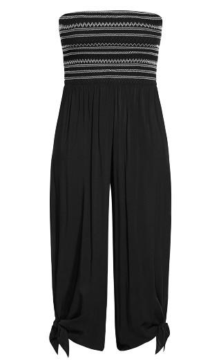Stitched Jumpsuit - black