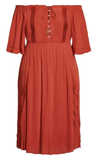 Lost Angel Maxi Dress - bronze