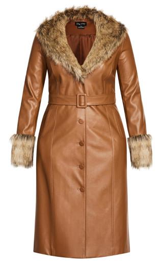 Spanish Romance Coat - copper
