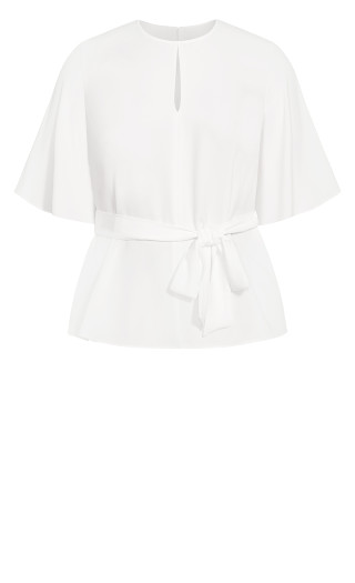 Knot Me Up Top - ivory