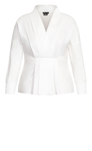 Sophisticated Shirt - ivory