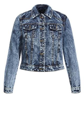 Denim Classic Jacket - blue