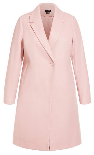 Effortless Chic Coat - blush