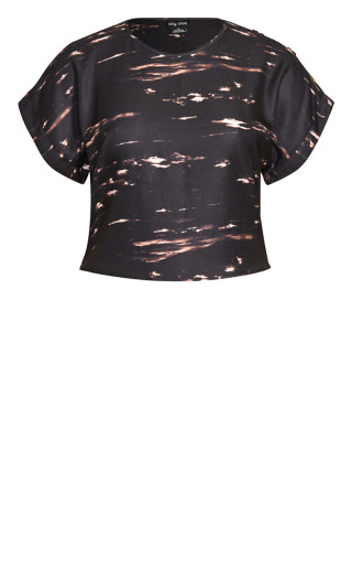 Moody Buttons Shirt - black