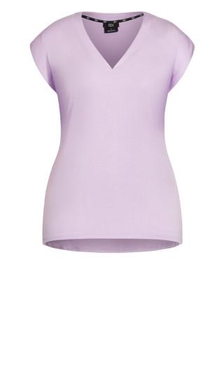 Dynamic V Top - lilac