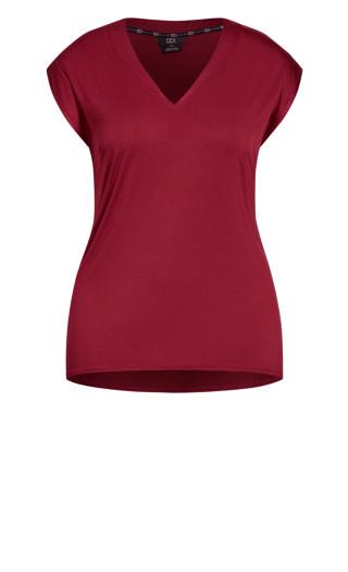 Dynamic V Top - ruby