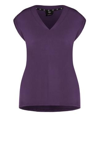 Dynamic V Top - violet