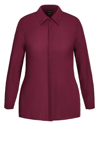 Rococo Shirt - currant