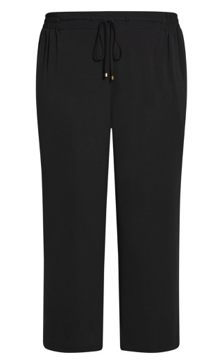 Clio Plain Pant - black