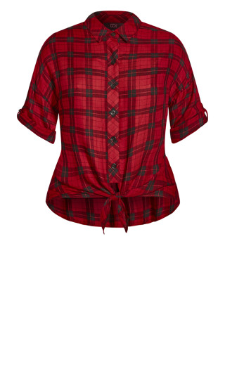 Mad Love Shirt - red