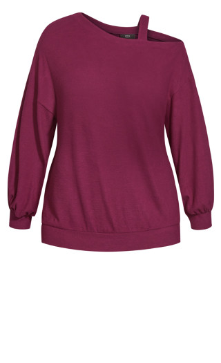 Soft Love Top - berry
