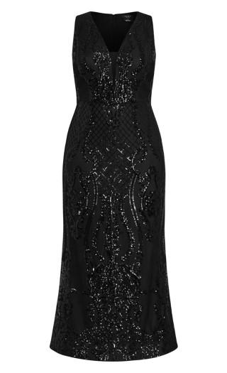 Luxurious Maxi Dress - black