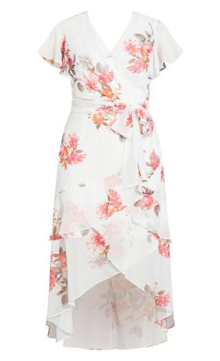 Summer Crush Maxi Dress - ivory