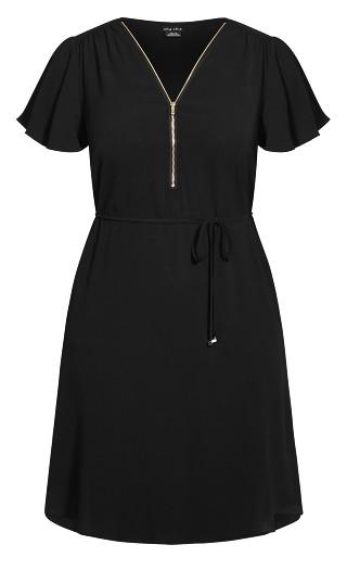 Sweet Fling Dress - black