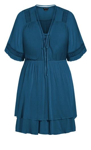 Bring The Heat Dress - poseidon