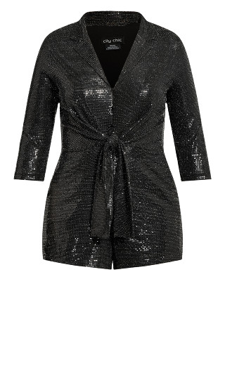 Glamour Playsuit - black